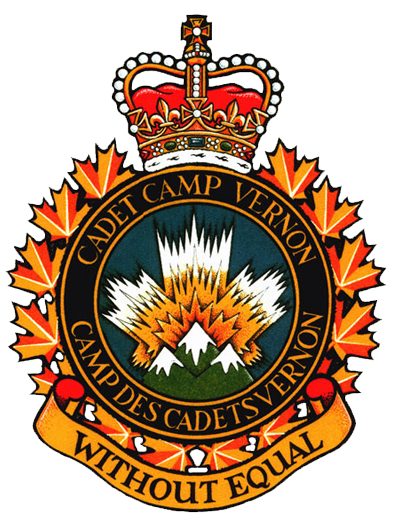 Vernon Army Cadet Camp badge